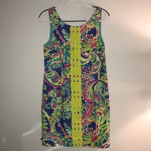 Lilly Pulitzer Size 8 shift dress (worn once*)